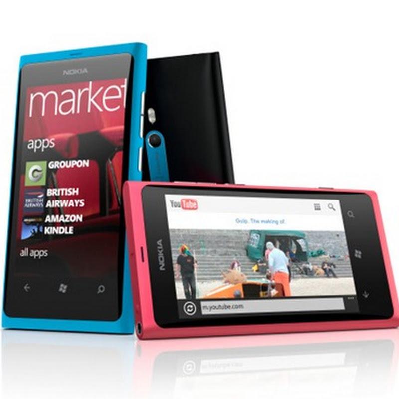 Nokia Lumia 800: características
