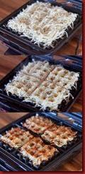 waffle hashbrowns
