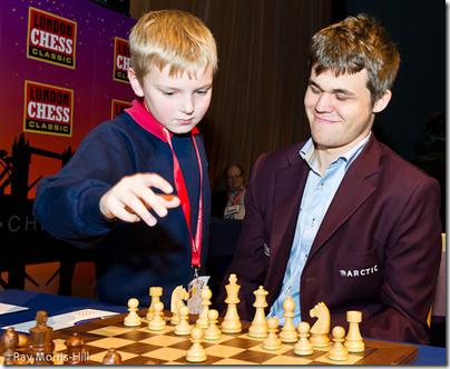 Magnus Carlsen, Round 4, LCC 2012