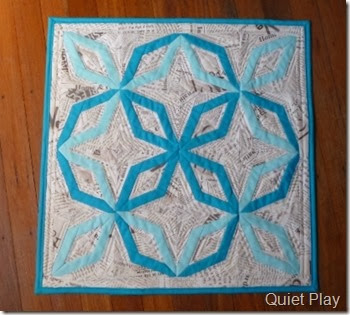 Something Blue DWR Challenge Quilt
