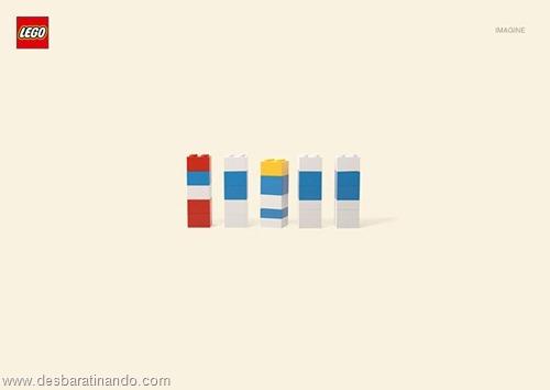 smurfs  lego minimalista