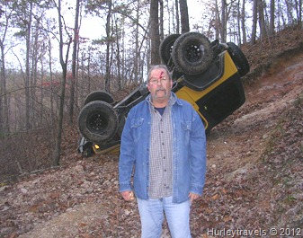 Jerry and Tim went 4wheeling and here's the result.