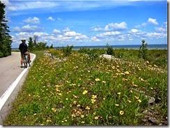 a - bike ride mackinac