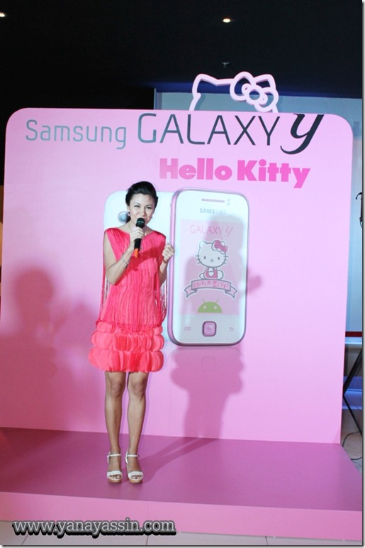 Samsung Galaxy Y Hello Kitty  207
