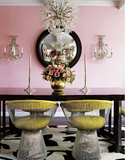 Wild child Betsy Johnson stays true to her crazy roots with a pink New York apartment.