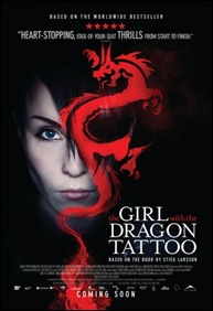 The Girl with the Dragon Tattoo - poster
