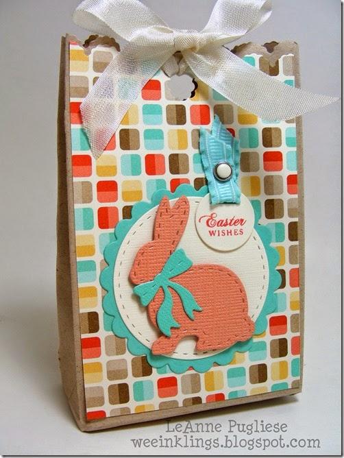 LeAnne Pugliese WeeInklings Easter Bag-a-lope Stampin