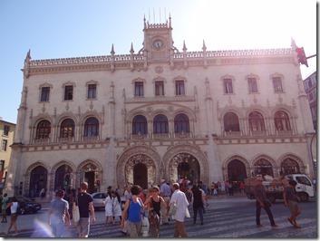La gre du centre ville de Lisbonne
