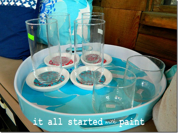 thrift_store_drinking_glasses_on_tray