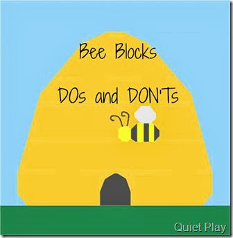 Bee Blocks DOs and DON'Ts