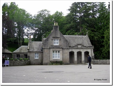 Gate keepers cottage at Balmoral castle.