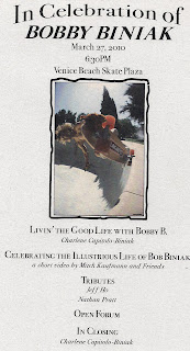 Bobby B's celebration of life @Venice Beach Skate Plaza