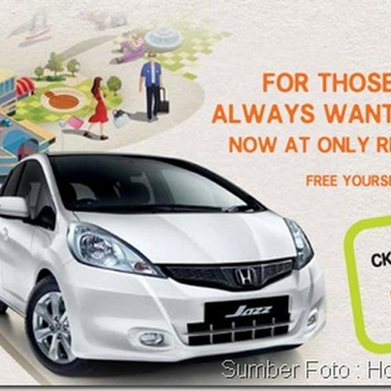 Honda Jazz Baru CKD Bulanan Serendah RM755