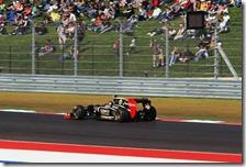Grosjean ad Austin 2012