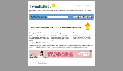 Tweet Effect