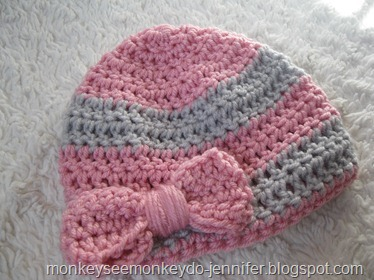 baby girl bow hat (2)