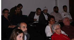 """Debate """"Situación actual del Islam de España y perspectivas de futuro"""". Aula Magna del edificio de La Nau de la Universitat de Valencia. Sábado 22 de octubre de 2011."""