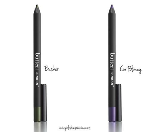 butter LONDON Brick Lane WINK Eye Pencil in Bushker and Cor Blimey