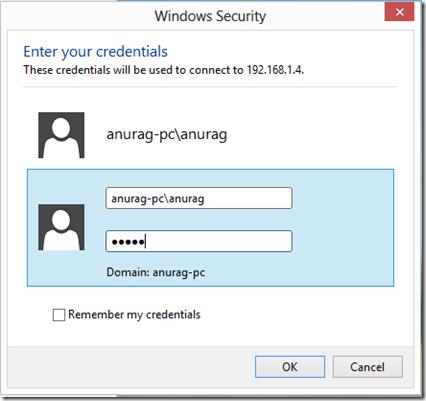 Security Credentials