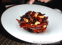 26 Meat fried with cashew nuts and lots of dired chili @ Ninja, Akasaka