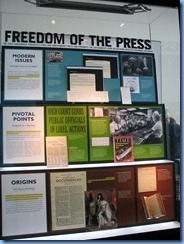 1532 Washington, D.C. - Newseum - First Amendment Gallery
