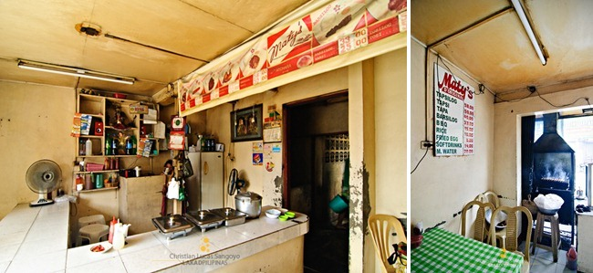 Maty's Tapsilog Interiors in Paranaque City