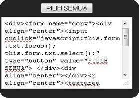 membuat text area di blog