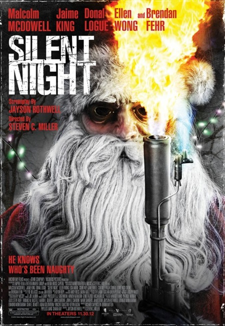 Silent Night 2012 Remake poster