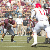 Washington - Grizzly Stadium, Montana Grizzlies vs. South Dakota Coyotes.  Missoula, MT, September 1st, 2012.
