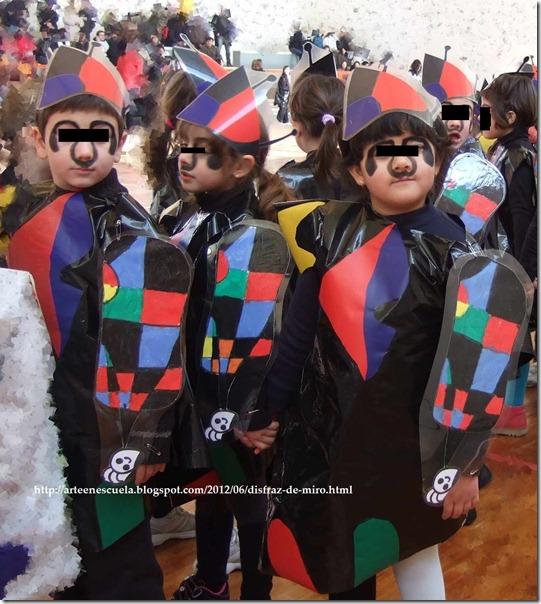 carnavals cole disfraz de miró