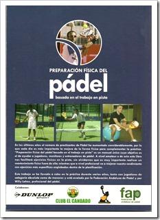 """""""Preparación Física del Pádel basada en el trabajo en pista"""" nuevo libro en el mercado."""