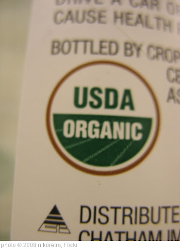 'USDA Organic label' photo (c) 2008, nikoretro - license: http://creativecommons.org/licenses/by-sa/2.0/