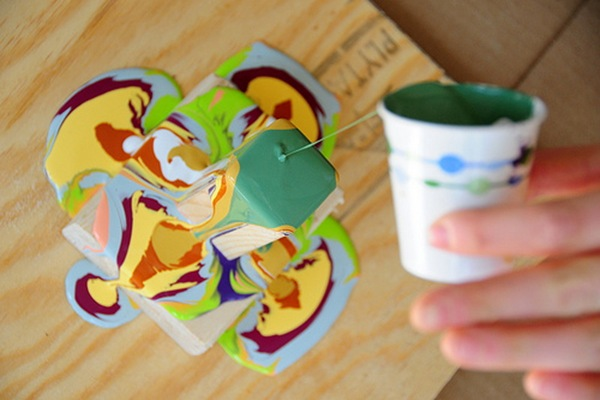 Pepper Paint pouring art