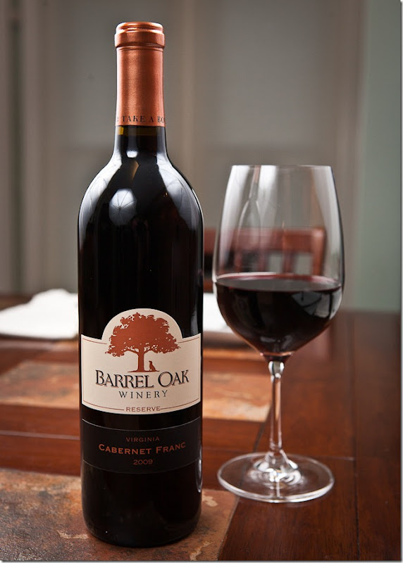 2009 Barrel Oak Winery Reserve Virginia Cabernet Franc-1