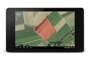 Screenshot of Planimeter - GPS area measure