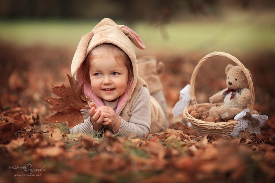 Фотопроект Золотая осень 2013. Детский  и семейный фотограф Людмила Фадеева