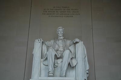 Lincolnの像