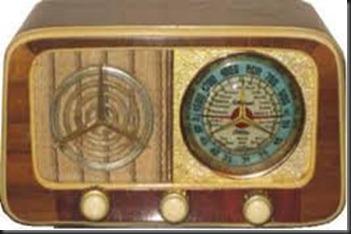 Radio-Aparato de radio antiguo