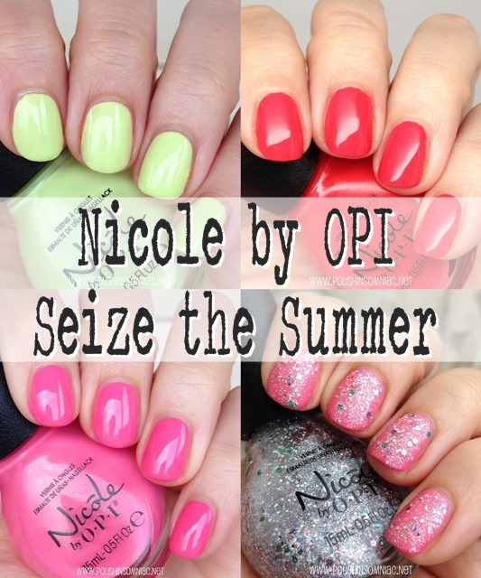 Nicole by OPI Seize the Summer