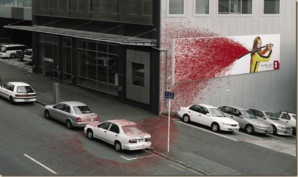 Publicités sur immeubles-kill-bill