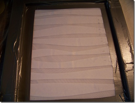 freezer paper screen
