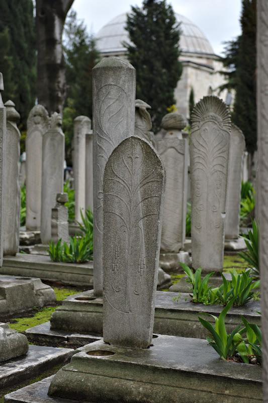 Pietre funerare.