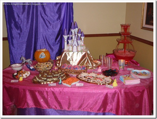 Disney Princess Birthday Party Food