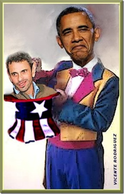Vicente Rodríguez - Capriles-Obama