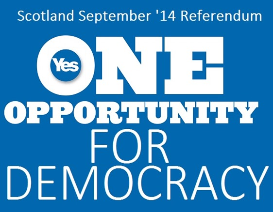 Yes for democracy Scotland
