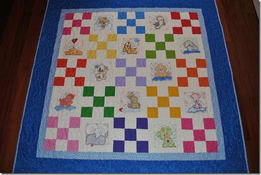 Angel Puppy Quilt 5