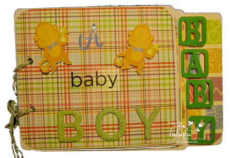 Mini album baby boy - Lulupu The Craft Lounge - Ruthie DT
