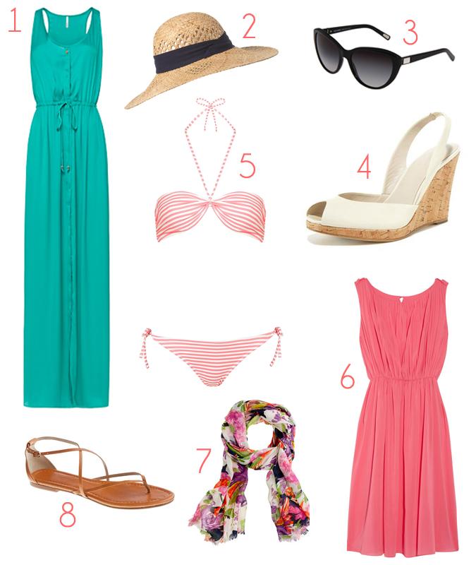 A Ladys Summer Wardrobe