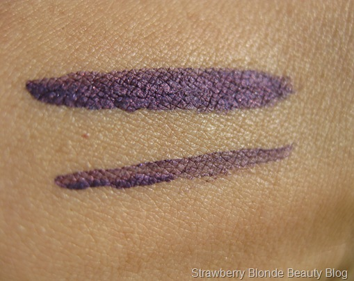 Violet purple liquid eyeliner