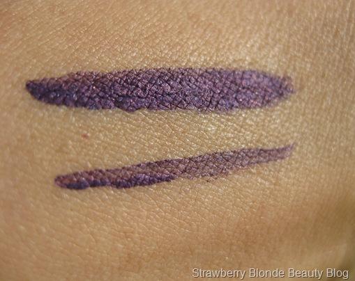 Violet purple liquid eyeliner